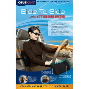 ObusForme Side to Side with Massage Back Rest